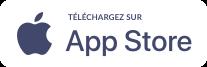 Trouvez-nous sur l'App Store