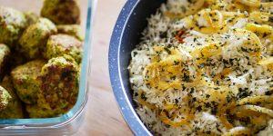 Recette de biryani et boulettes de poulet